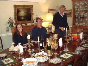 Dinner at Uplands